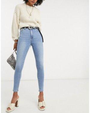 Object skinny jeans in light blue