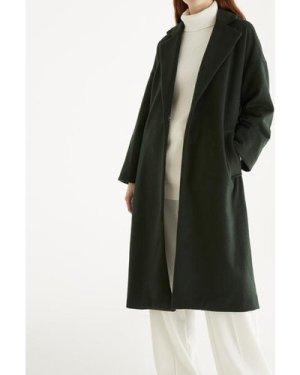 Maple wool blend coat