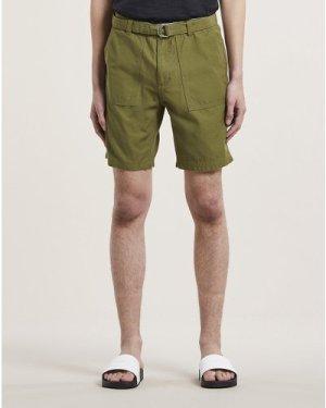 Bellfield Bengal Cargo Mens Shorts | Khaki, 36 Inch Waist