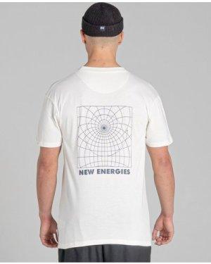 Bellfield Adino Unisex T-Shirt | Ivory, Large
