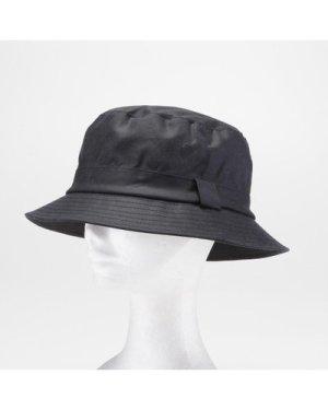 Drop Brim Wax Hat Navy