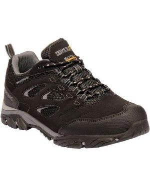 Regatta Men's Holcombe IEP Low Waterproof Walking Shoes - Black Granite