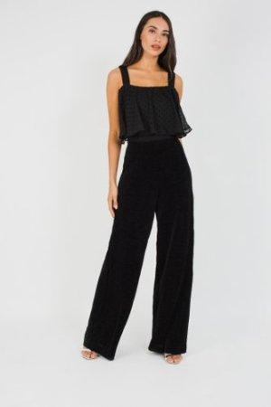 TFNC Arete Black Jumpsuit