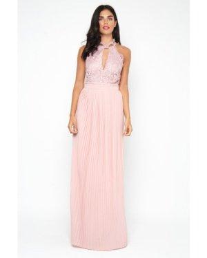 TFNC Madison Pearl Pink Maxi Dress