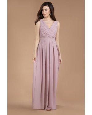 TFNC Kesha Pale Mauve Maxi Dress