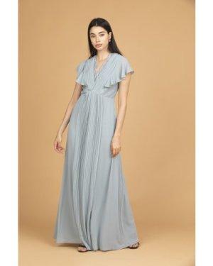 TFNC Jonna Dusty Sage Maxi Dress