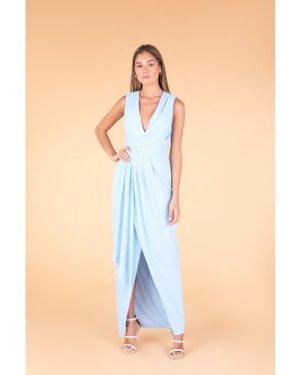 TFNC Selby Blue Maxi Dress