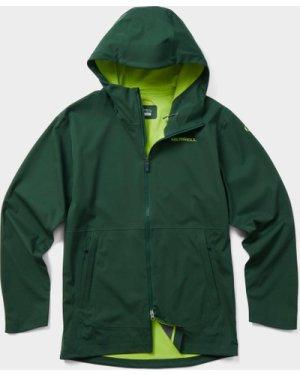 Merrell Men's Whisper Rain Jacket, Green/GRN