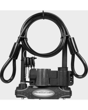 Masterlock Gold 13mm D-Lock 1200mm Cable, Black/C