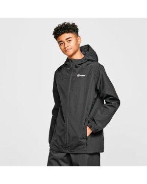 Berghaus Kids' Bowood Waterproof Jacket, Black/BLKBLK