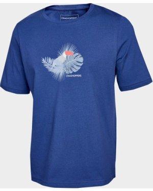 Craghoppers Kids' Olga Short Sleeved T-Shirt, Blue/DBL