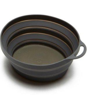 Lifeventure Silicon Ellipse Bowl, Grey