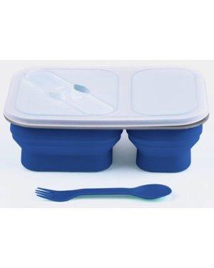HI-GEAR Folding Lunch Box Set, Blue/SET