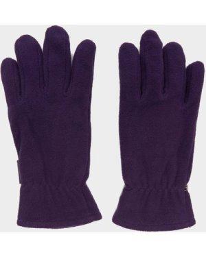 Peter Storm Unisex Thinsulate Fleece Gloves, Purple/PUP