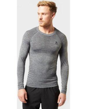 Odlo Men's Performance Light Long Sleeve Top, Grey/MGY