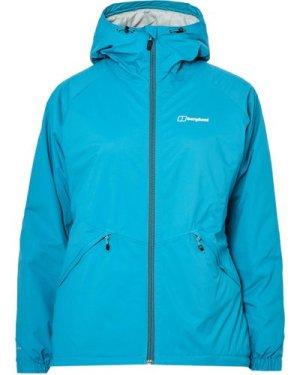 Berghaus Women's Stormcloud Waterproof Jacket, Blue/AF