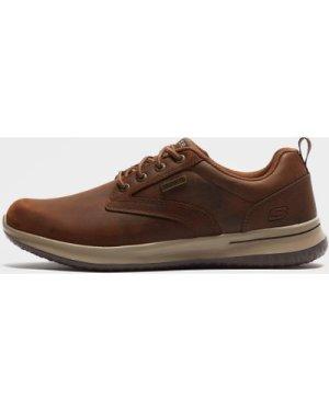 Skechers Men's Delson Camben Trainers - Brown/Antigo, Brown/ANTIGO