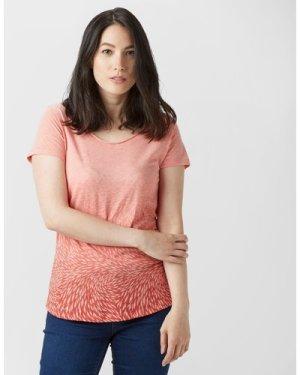 Columbia Women's Ocean Face Short Sleeve T-Shirt - Pink, Pink