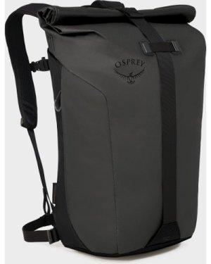 Osprey Transporter Roll Backpack - Blk/Blk, BLK/BLK