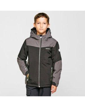 Regatta Kids' Highton Insulated Jacket - Black/Grey, Black/Grey
