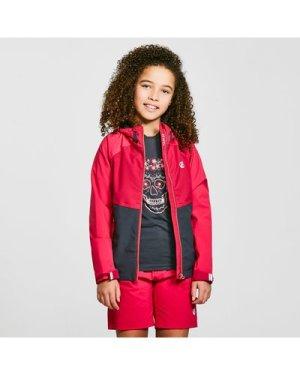 Dare 2B Kids' In The Lead Ii Waterproof Jacket - Pink/Black, Pink/Black