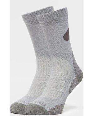 Peter Storm Men's Lightweight Outdoor Socks - 2 Pair Pack - Grey/Lgy, Grey/LGY