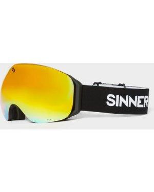 Sinner Unisex Avon Matte Goggles - Blk/Red/Blk/Red, BLK/RED/BLK/RED