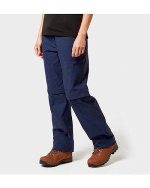 Brasher Brasher Women's Zip-Off Stretch Trousers - Navy/Navy, NAVY/NAVY