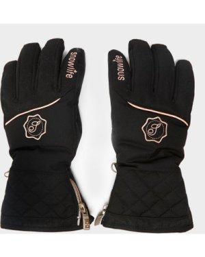 Snowlife Women's Lady Audrey Dt Glove - Black/Blk, Black/BLK
