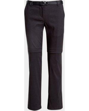 Craghoppers Women's Kiwi Pro Convertible Trousers (Short) - Black/Blk, Black/BLK