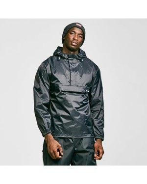 Peter Storm Men's Packable Cagoule - Black, Black