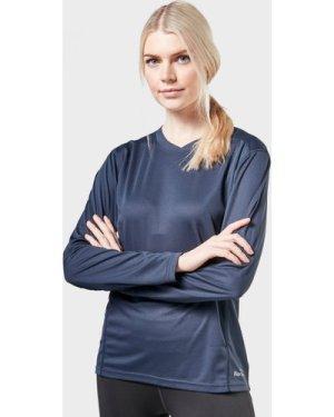 Peter Storm Women's Long Sleeve Tech Tee - Navy/B, Navy/B