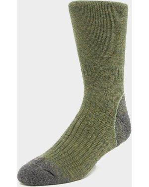 Brasher Men's Trekker Socks - Green/Grn, Green/GRN
