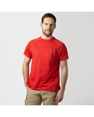 Brasher Men's Hopegill T-Shirt - Red/Red, RED/RED