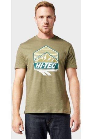 Hi Tec Men's Beltor T-Shirt - Khaki/Khaki, KHAKI/KHAKI