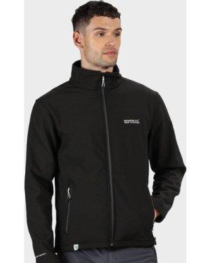 Regatta Men's Cera Iv Softshell Jacket - Black/Blk, Black/BLK