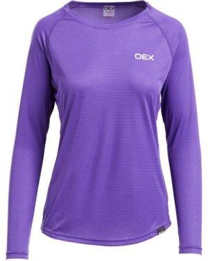 Oex Women's Breeze Baselayer T-Shirt - Purple/Pur, Purple/PUR
