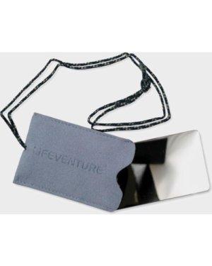 Lifeventure Unbreakable Travel Mirror - Grey/Unbreakable, GREY/UNBREAKABLE