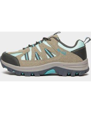 Peter Storm Kids' Buxton Walking Shoe - Grey/Light Grey, Grey/Light Grey