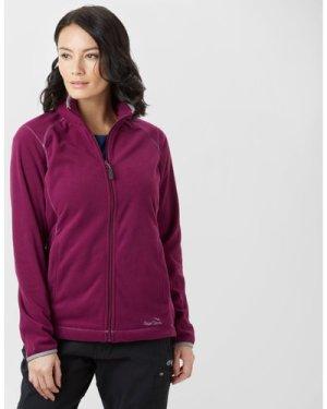 Peter Storm Women's Grasmere Full-Zip Fleece - Purple/Plm, Purple/PLM