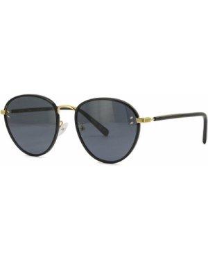 Stella McCartney SC0147S 001 Black-Gold/Grey **