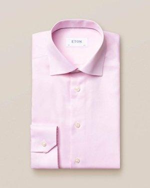 Pink Signature Twill Shirt