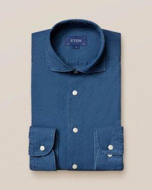 Mid Blue Denim Shirt