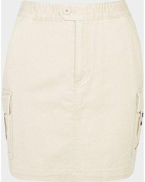 Women's Tommy Jeans Carpenter Skirt Brown, Beige