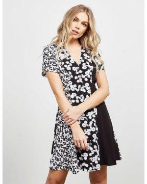 Women's Calvin Klein Jeans Floral Dress Multi, Black/White