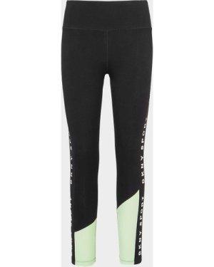 Women's DKNY Colourblock Leggings Black, Black