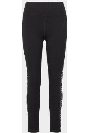 Women's DKNY Side Tape Leggings Black, Black
