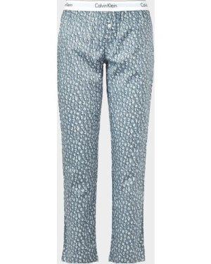 Women's Calvin Klein Underwear Cheetah Pyjama Bottoms Blue, Blue