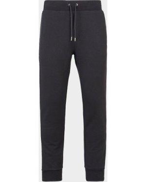 Men's BOSS Lamnt Nylon Panel Track Pants Black, Black