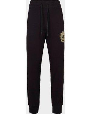 Men's Versace Jeans Couture Foil Medal Track Pants Black, Black